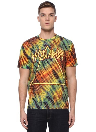 Dsquared2 Tişört Renkli